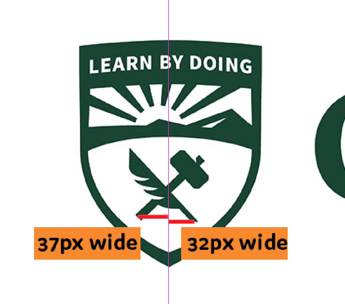 The Cal Poly logo isn\'t even centered. Tfw Admin spends.