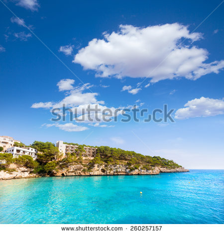 Cala Santanyi Stock Photos, Royalty.