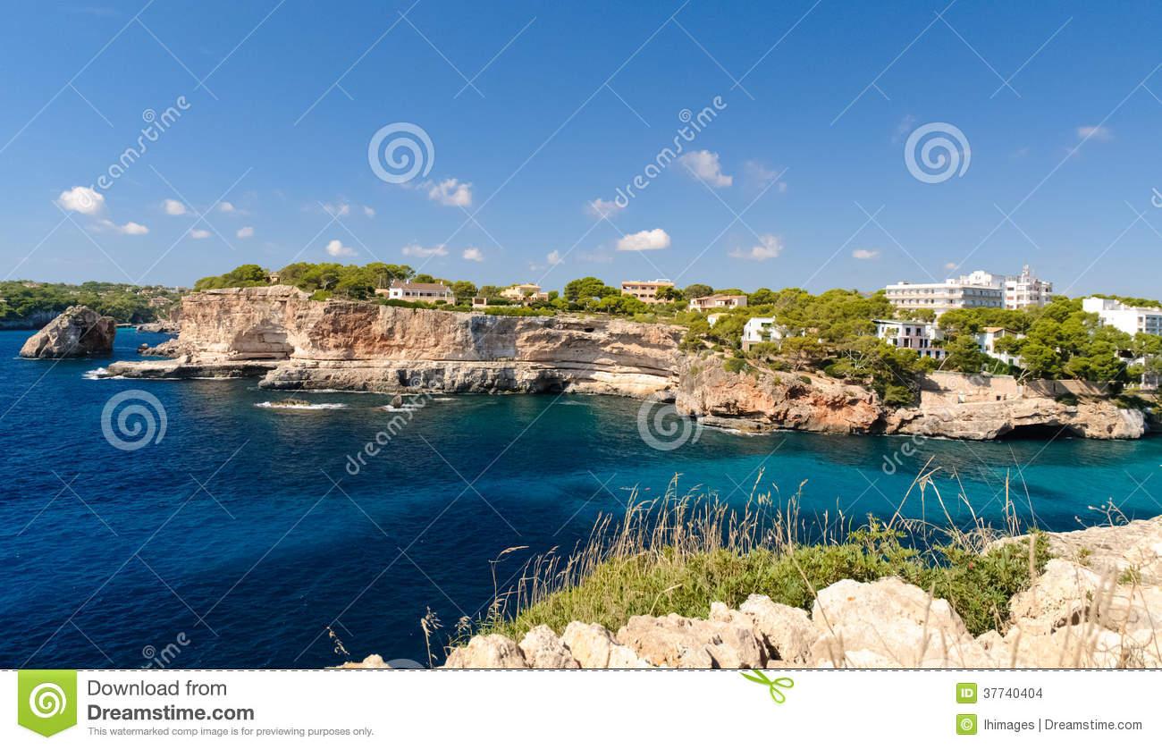 Cala Santanyi, Majorca, Spain Stock Images.