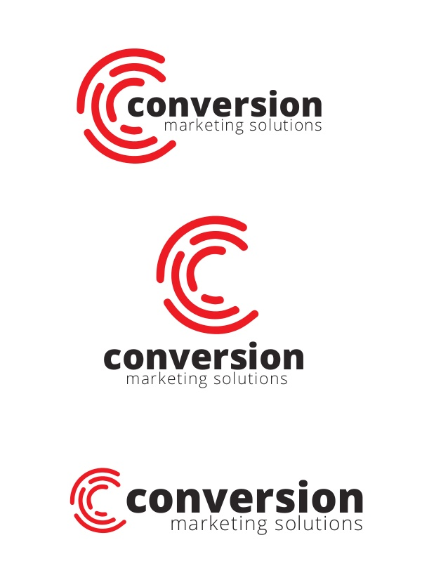 Logo Design for Conversion Marketing Solutions based out of.