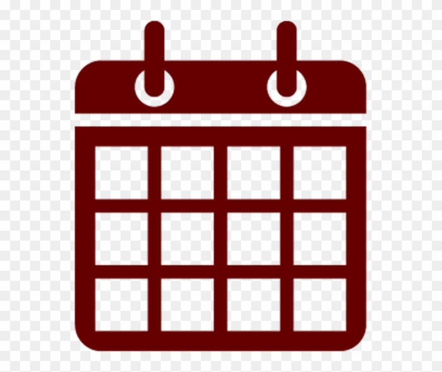 Transparent Calendar Icon Clipart Camden Conference.