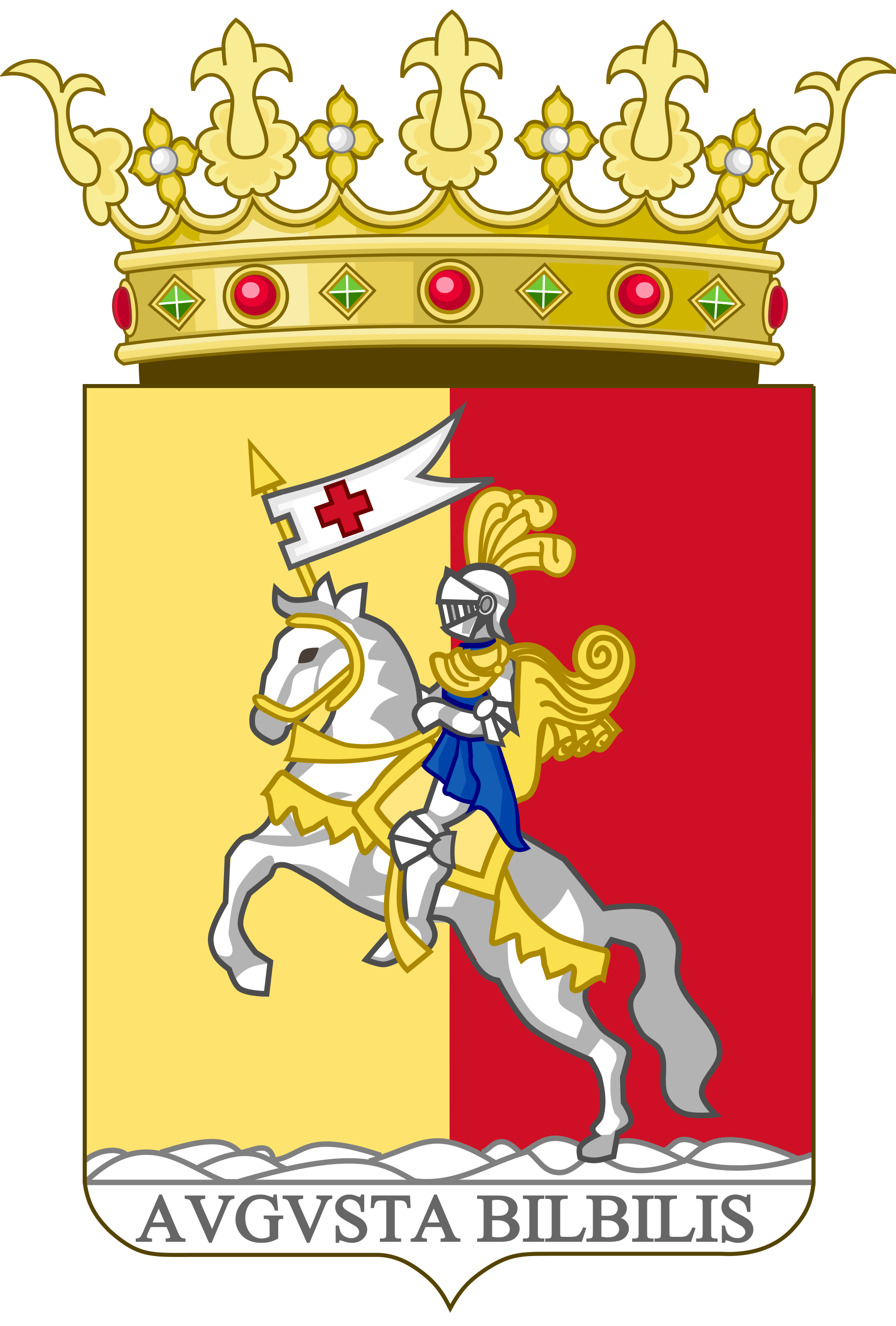 File:Coat of Arms of Calatayud.svg.