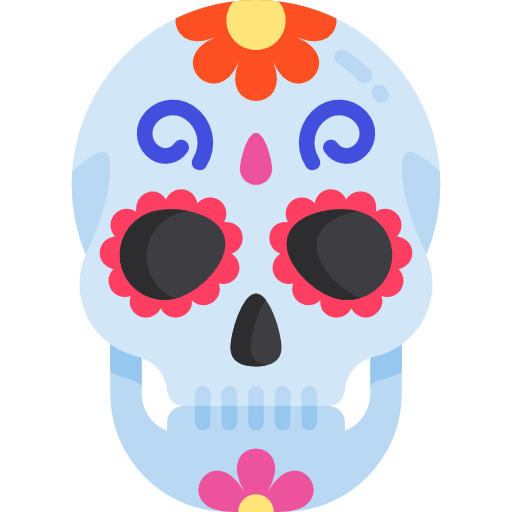 Mexican skull.