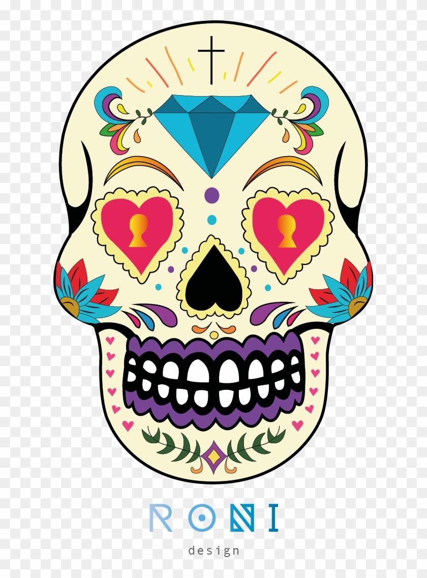 Calaveras Mexicanas Png, Transparent Png.