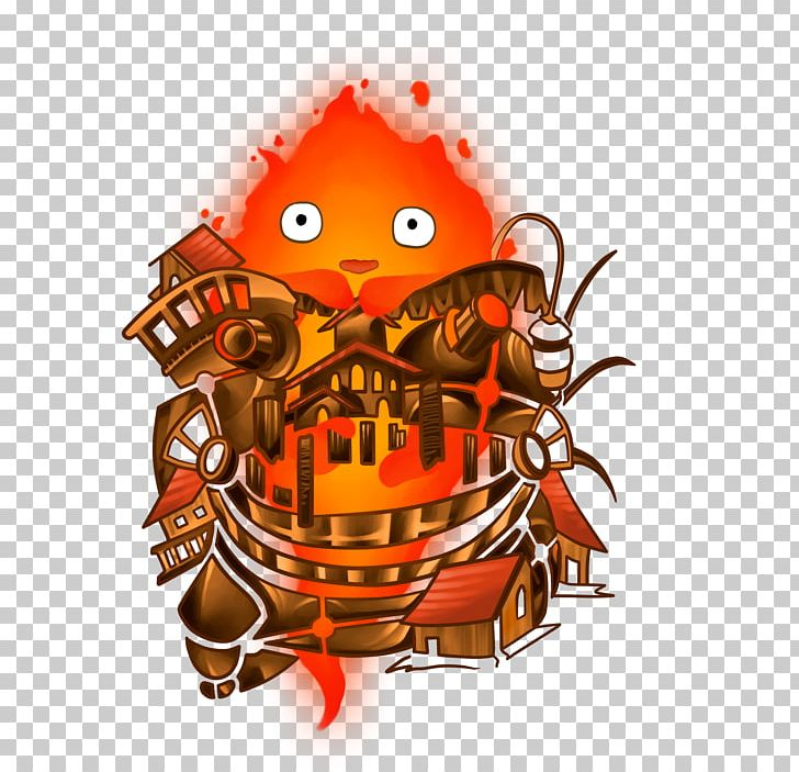 Calcifer Howl\'s Moving Castle Wizard Howl Ghibli Museum.