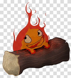 Calcifer PNG clipart images free download.