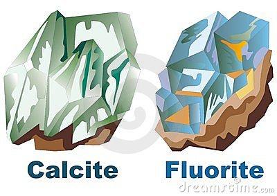 Minerals cliparts.