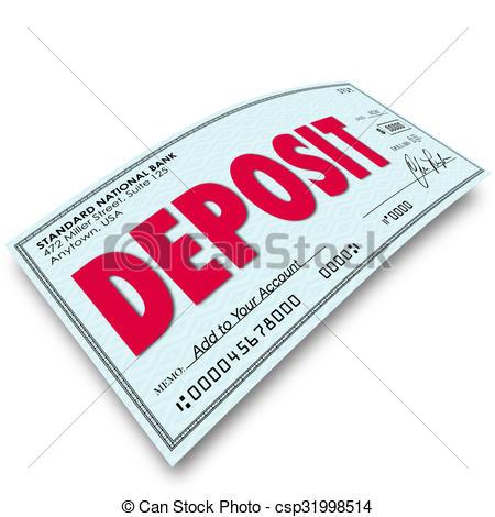 Deposit word Illustrations and Stock Art. 803 Deposit word.