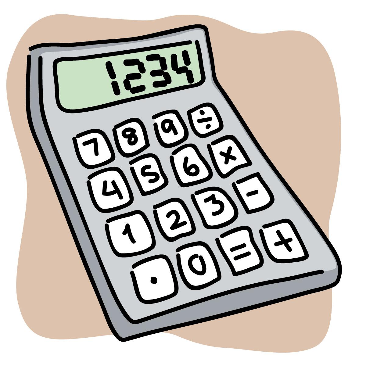 Calculate clipart.