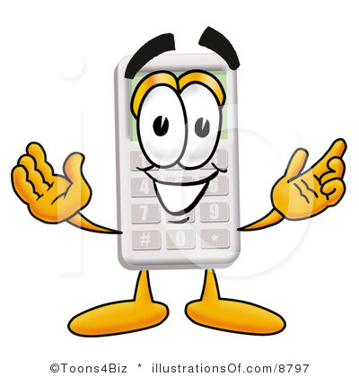 Graphing Calculator Clipart.