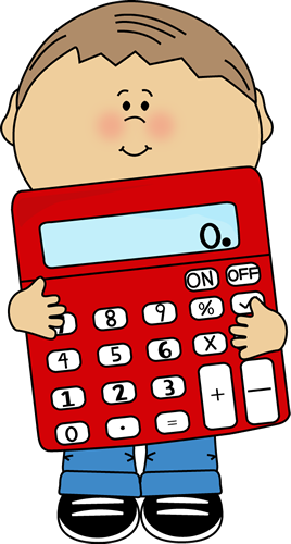 Cute Calculator Clipart.