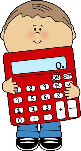 Cute Calculator Clipart.
