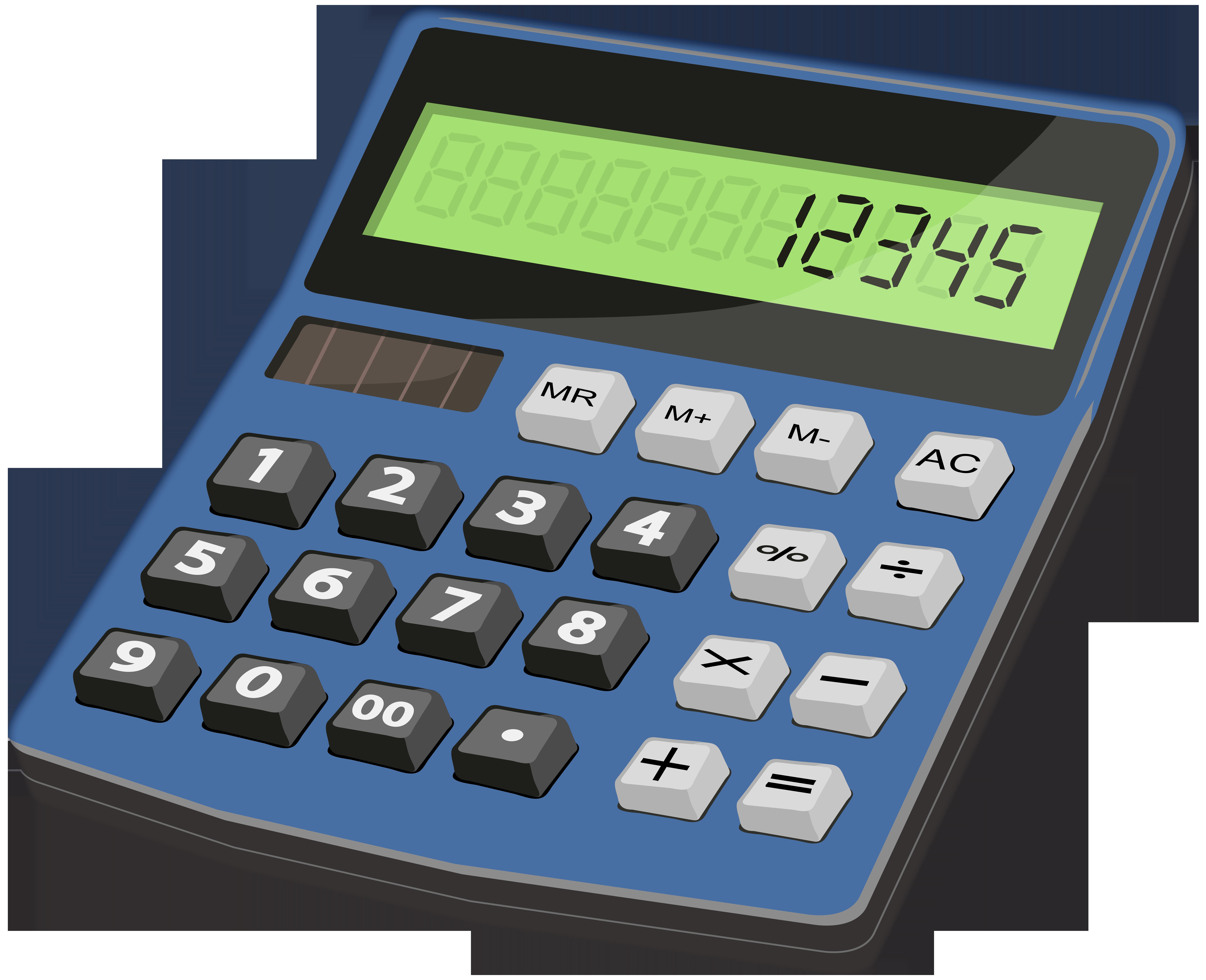 Desktop Calculators PNG Clipart.