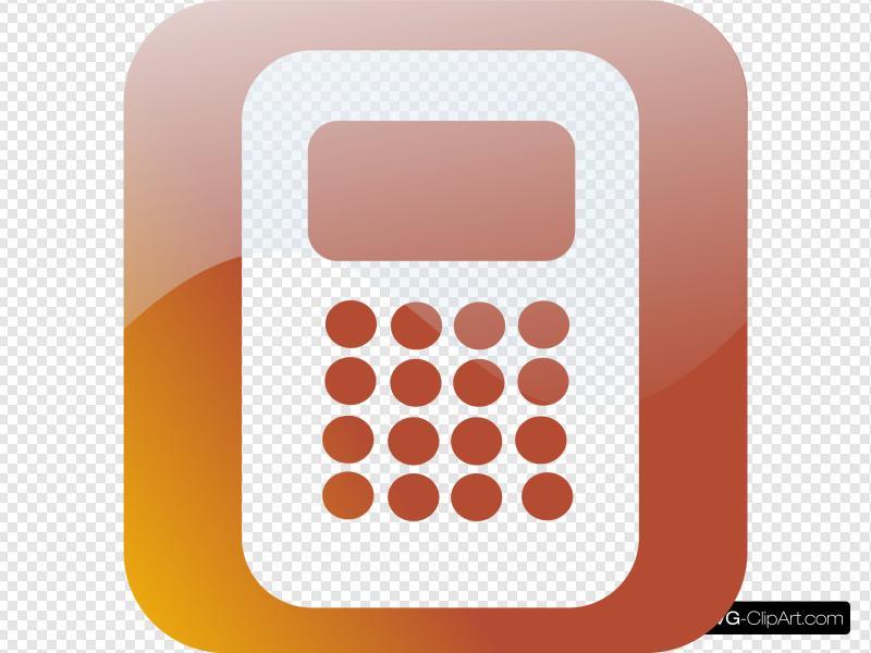 Calculator Icon Clip art, Icon and SVG.