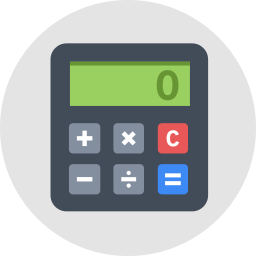 Calculator Icon Flat.