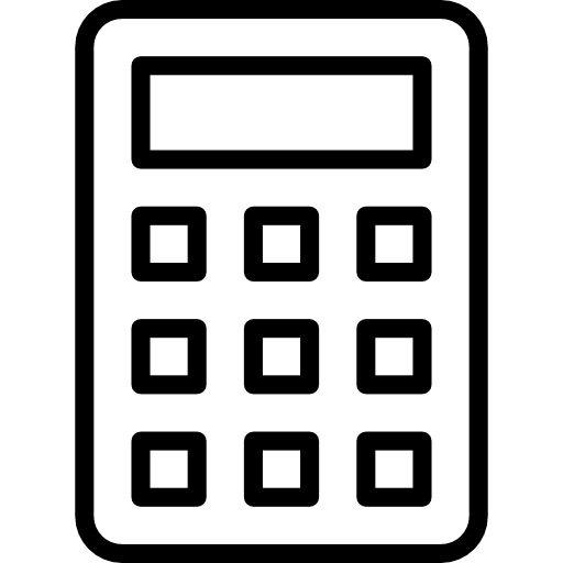 Calculator Icons.