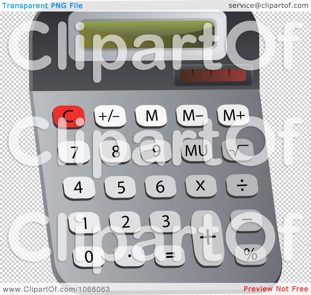 Clipart Calculator 5.