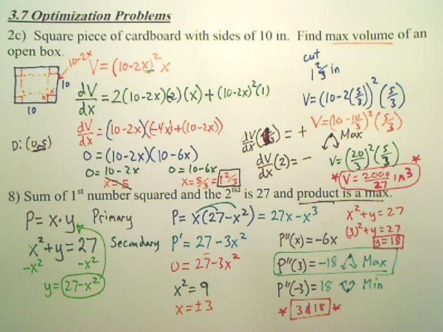 AP Calculus Videos & Notes.