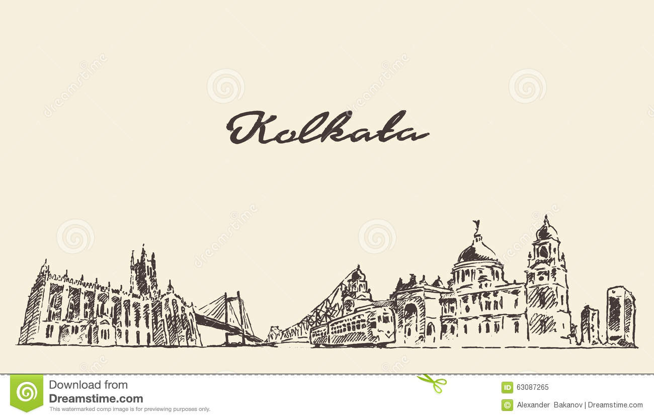 Calcutta Stock Illustrations.