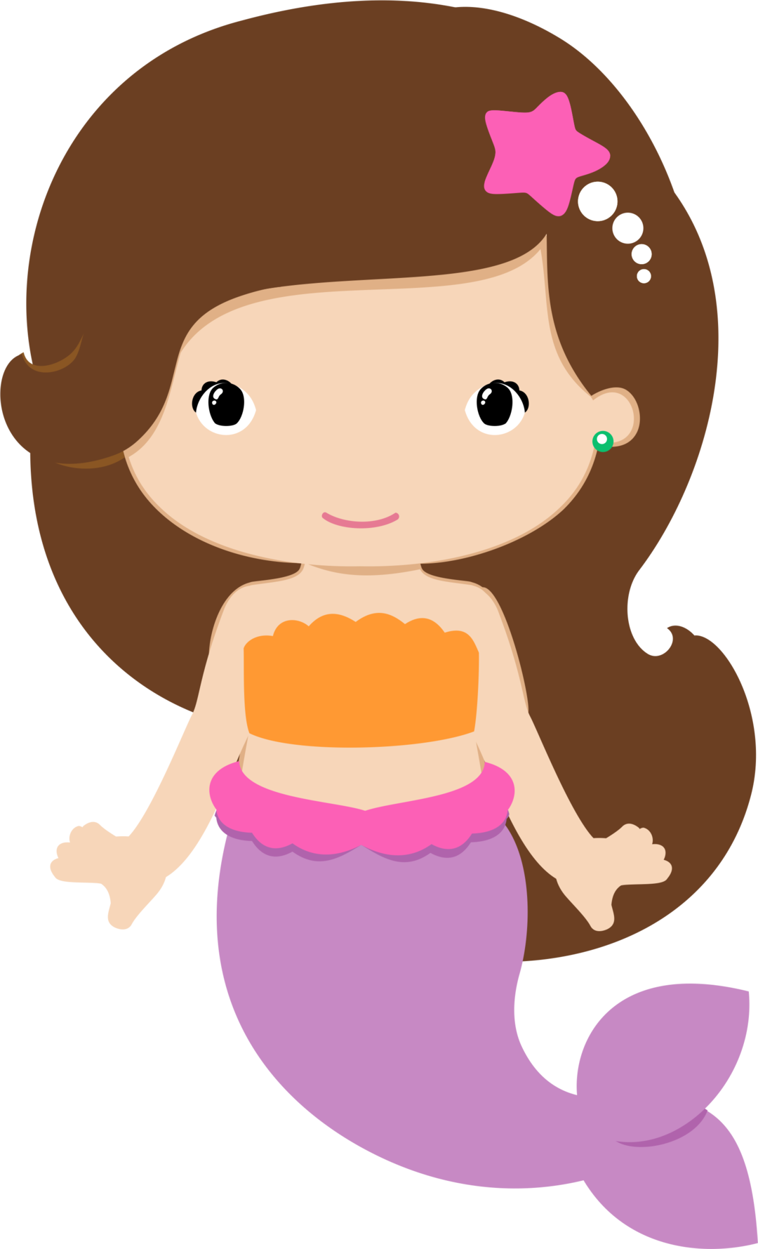 Collection of free Mermaid vector baby. Download on Clipart 4Biz.