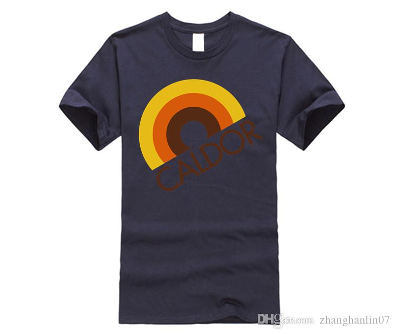 CALDOR Department Store Rainbow Logo T Shirt Shirts With Design Unique T  Shirts For Sale From Zhanghanlin07, $14.21.