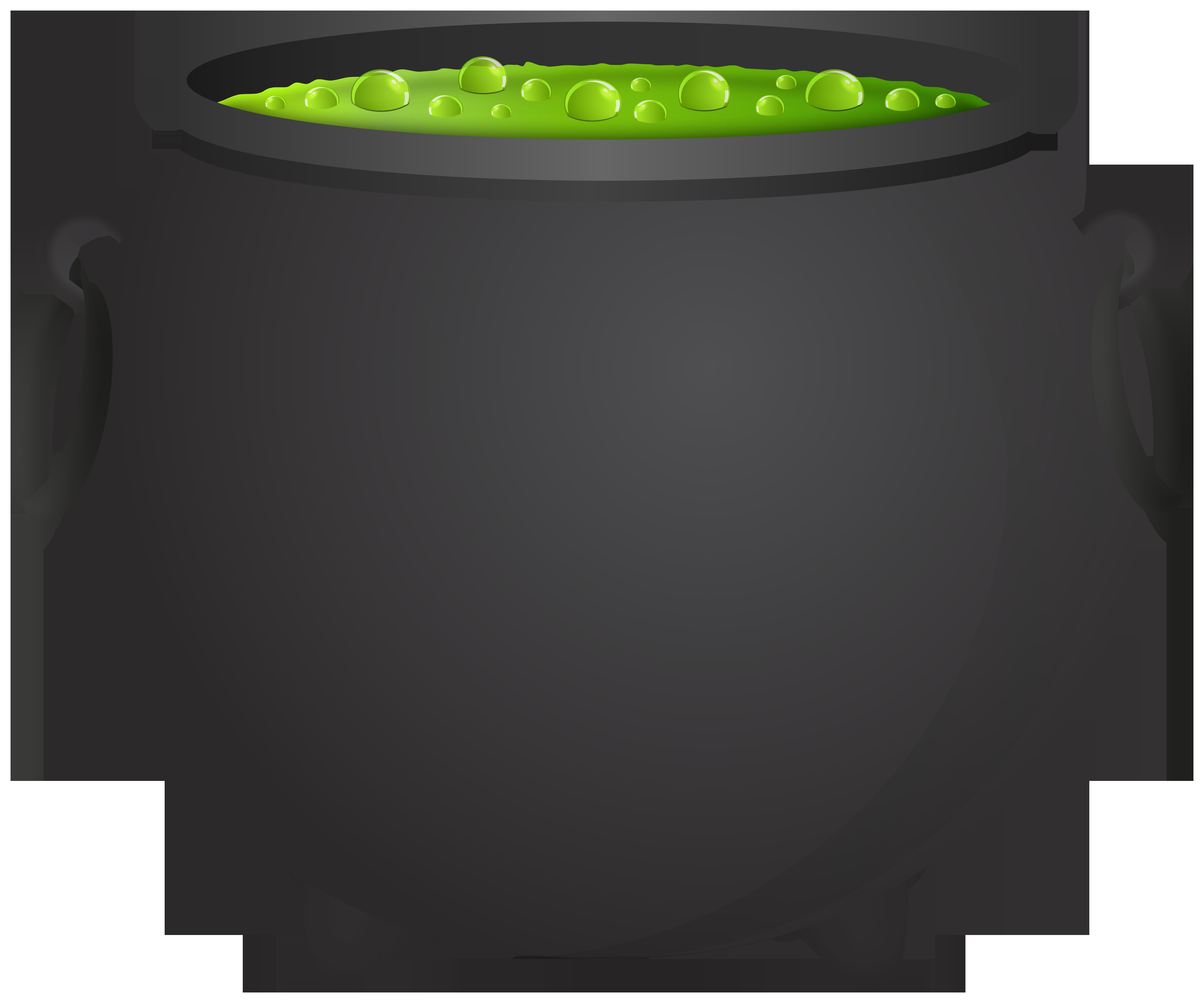 Witch Cauldron PNG Clipart.