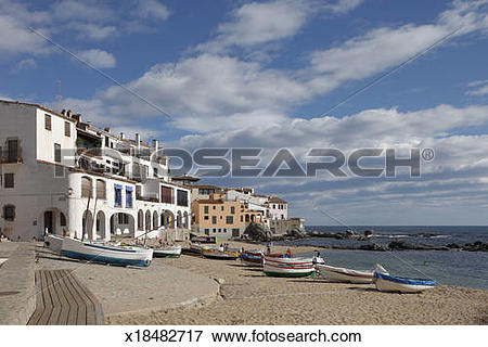Picture of Calella de Palafrugell Costa Brava fishing village.