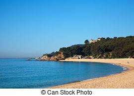 Stock Photos of Calella, Spain.