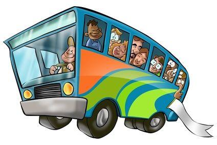 Bus Ride Clipart.