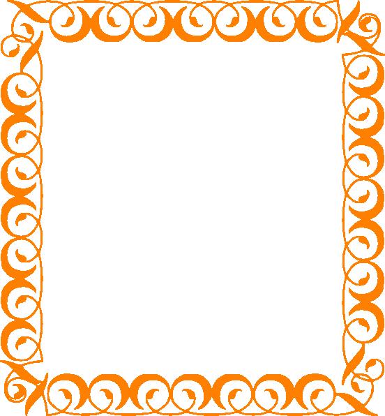 Free clipart calendar leaves pumpkins border.
