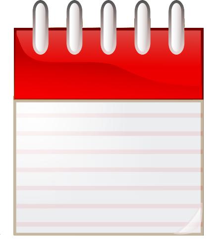 Calendar Page Clipart.
