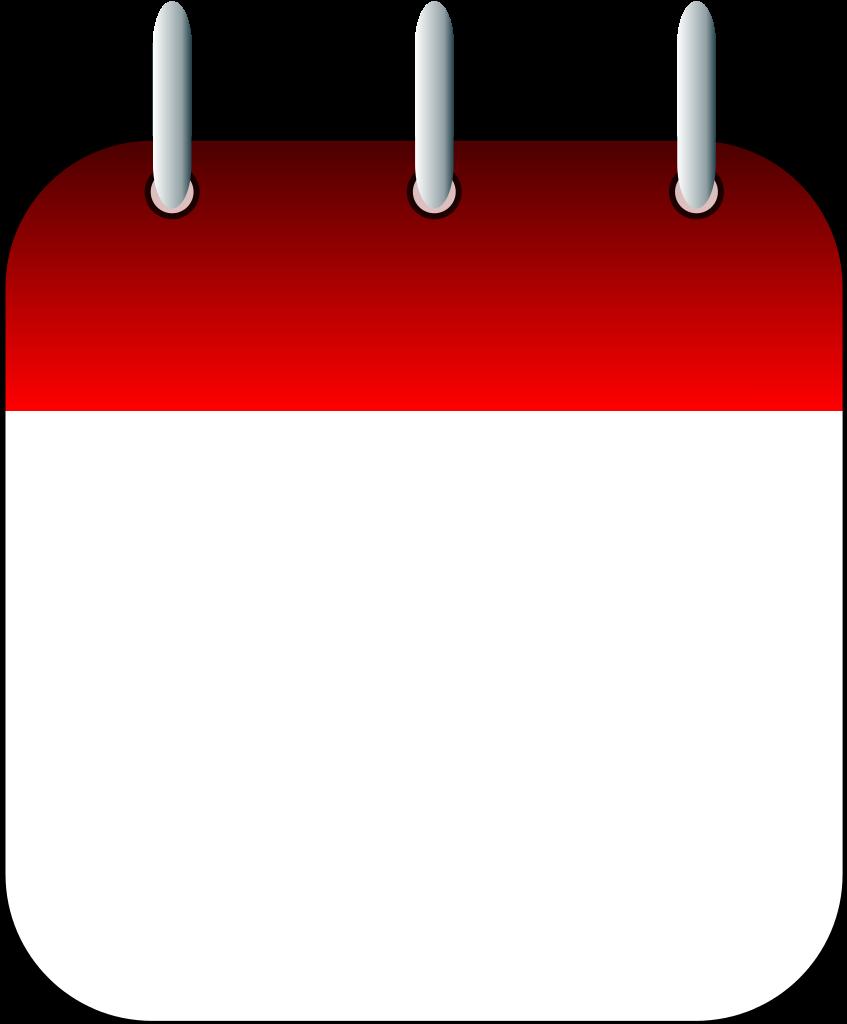 Calendar Date Clipart.