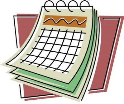 Calendar Clipart.