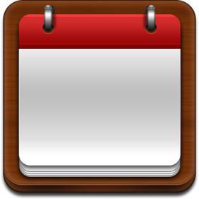 Blank Calendar Clipart.