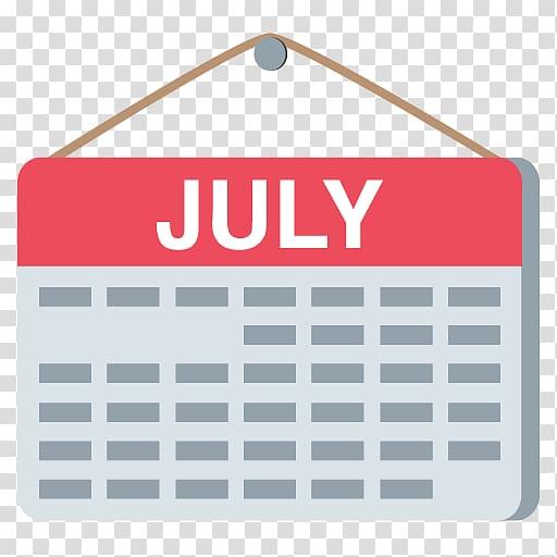 Emoji Calendar, calendar transparent background PNG clipart.