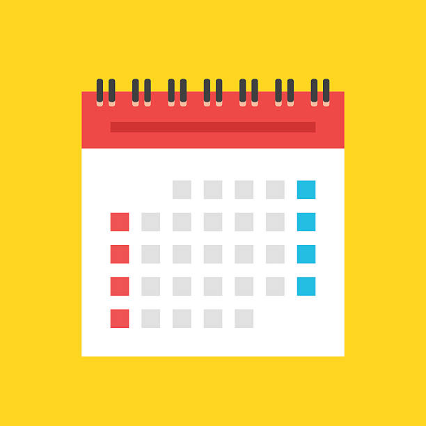 Calendar Clip Art, Vector Images & Illustrations.