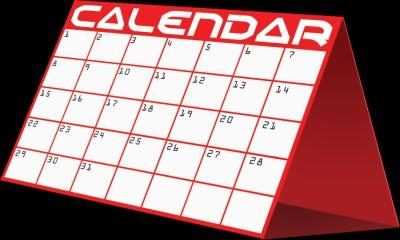 School calendar clip art clipart.