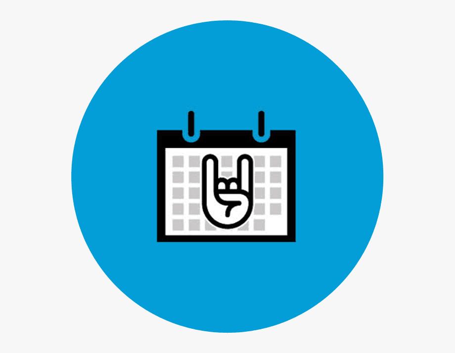 Events Calendar Clipart , Png Download , Transparent Cartoon.