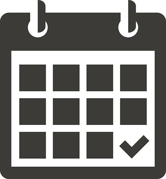 Calendar Clipart Vector.