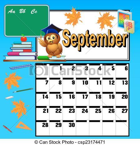 Free Clipart For Teachers Calendar.