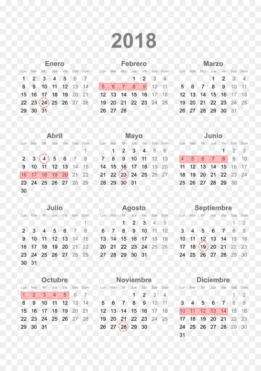 2018 Large Diary Calendar.