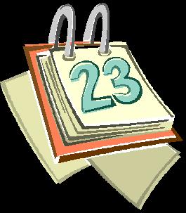 Calendars Clipart.