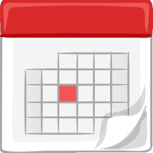 Free calendar vector clipart.