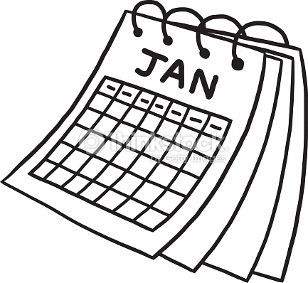 Calendrier clipart 7 » Clipart Station.