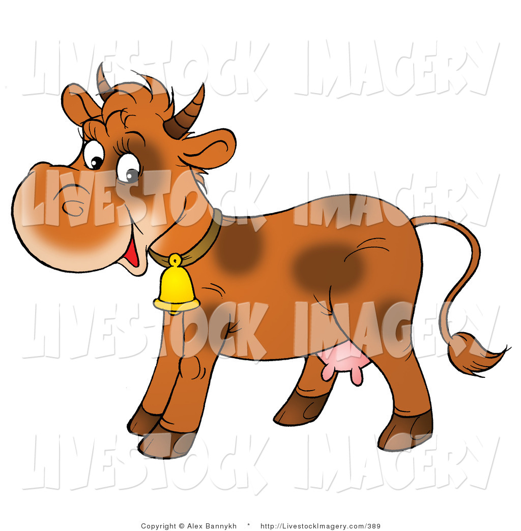 Calf Clipart Page 1