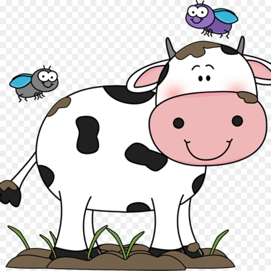 cute cow clipart Holstein Friesian cattle Calf Clip art.