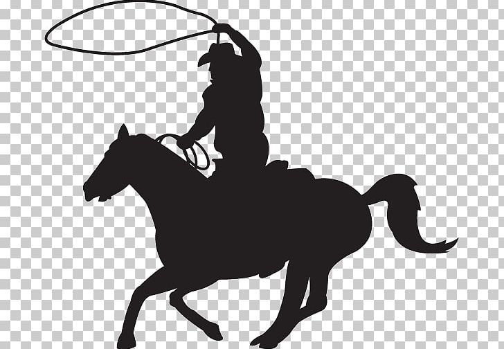 Calf Roping Team Roping Rodeo Cowboy Silhouette PNG, Clipart.