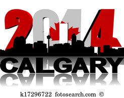Calgary Clip Art and Stock Illustrations. 110 calgary EPS.