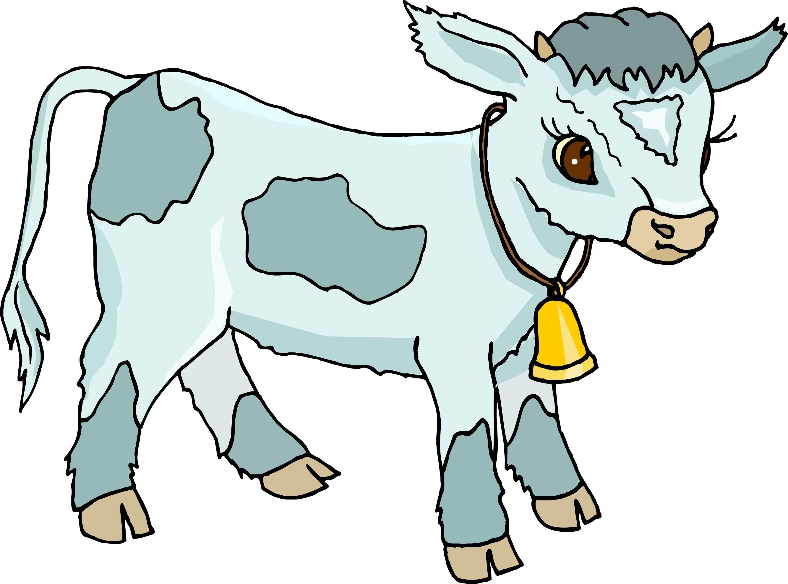 Clip art calf.