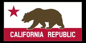 California Bear Vector.
